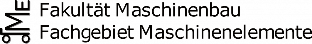 Logo of Moodle des Fachgebiets Maschinenelemente